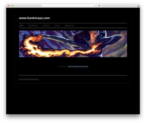 Twenty Twelve best free WordPress theme - hankmayo.com