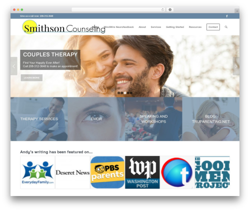 WP template Enfold - smithsoncounseling.com