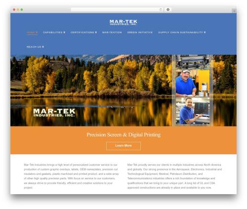X WordPress theme - mar-tekind.com