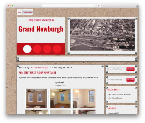 DISCUSSION best free WordPress theme - grandnewburgh.com
