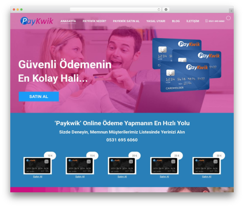 The7 theme WordPress - paykwikofficial.com