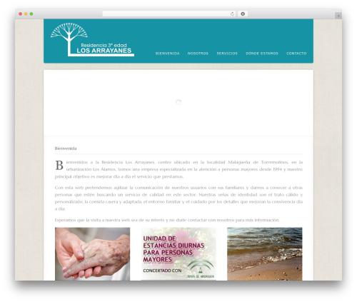 Acoustic premium WordPress theme - residencialosarrayanes.com