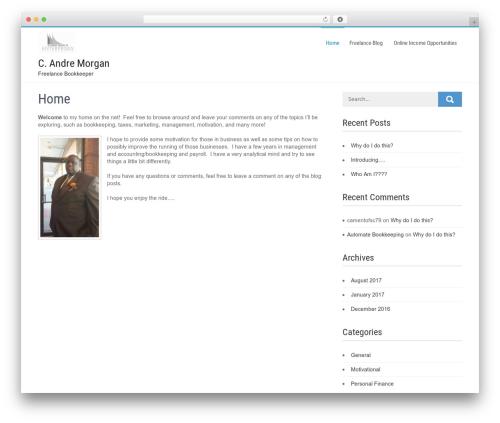 Businessweb Plus free WordPress theme - camentsc.com
