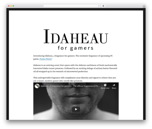 Twenty Sixteen WordPress theme download - idaheau.com