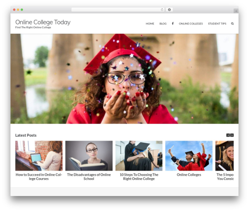 WordPress theme Ultra Premium - onlinecollege.today