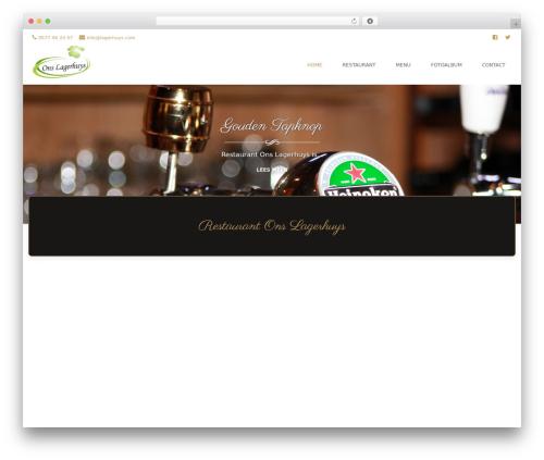 Brasserie Pro WordPress theme - lagerhuys.com