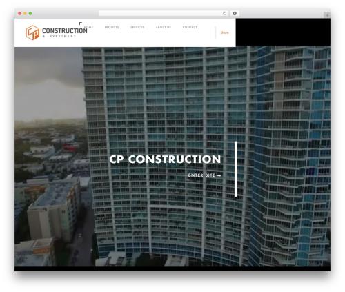 Domik WordPress theme design - cpcoin.com