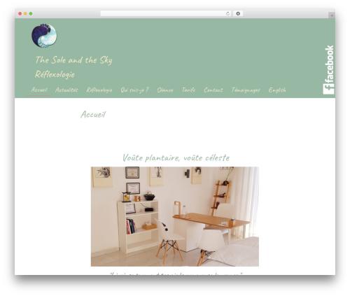 Handdrawn-lite best free WordPress theme - thesoleandthesky.com