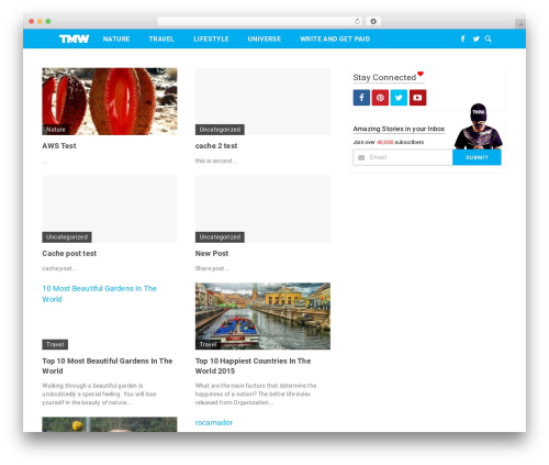 WP template Codilight - anonymousuniverse.com