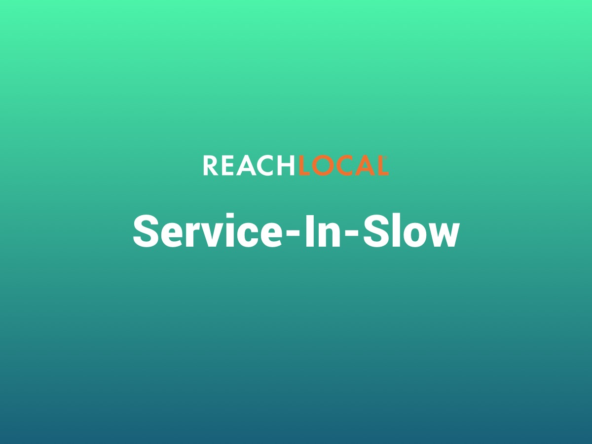 WP theme Reach Local - Service In Slow