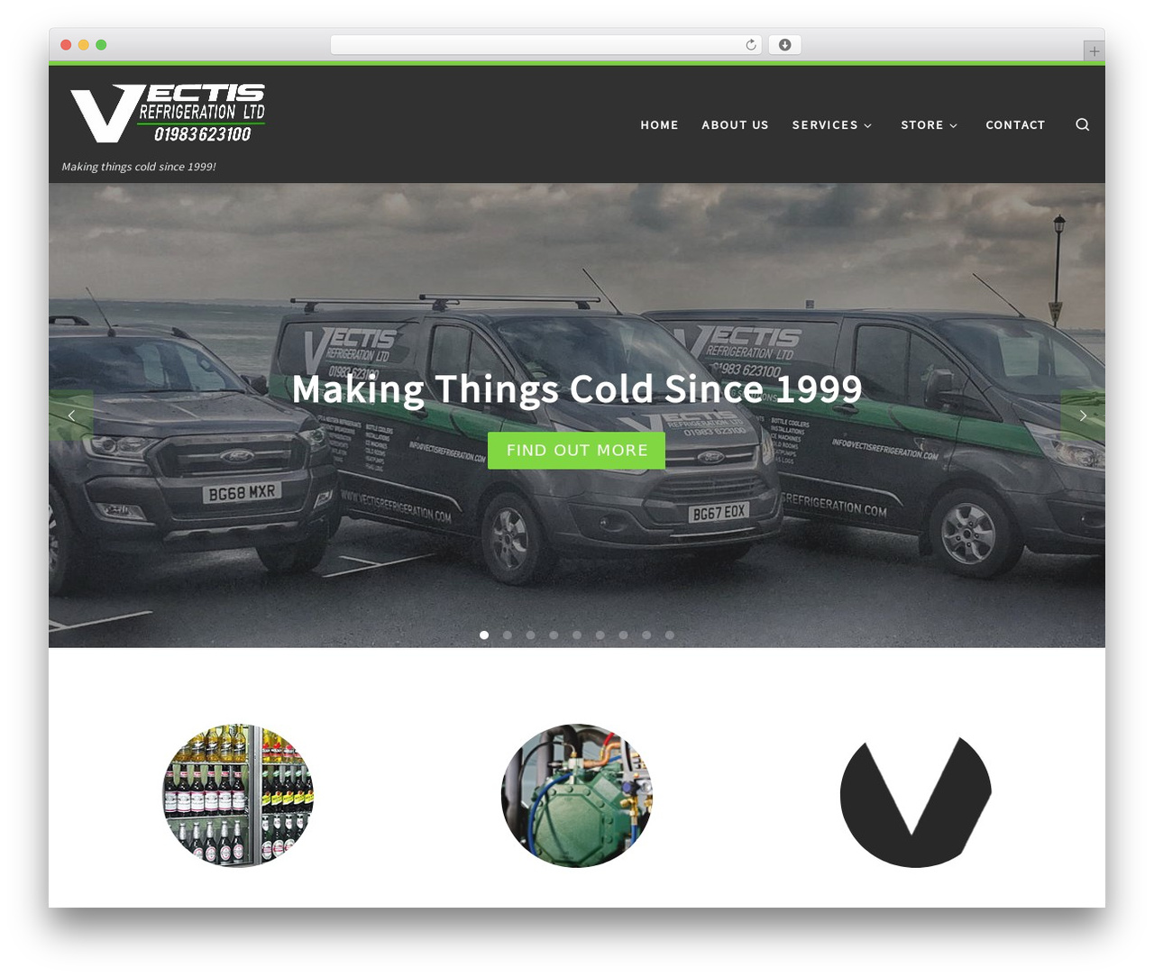 Best WordPress template Customizr - vectisrefrigeration.com