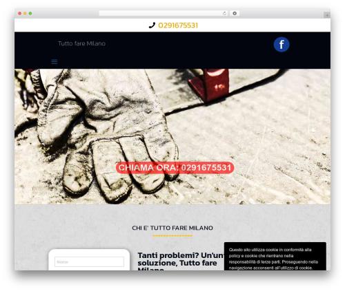 Theme WordPress Betheme - tuttofaremilano.com