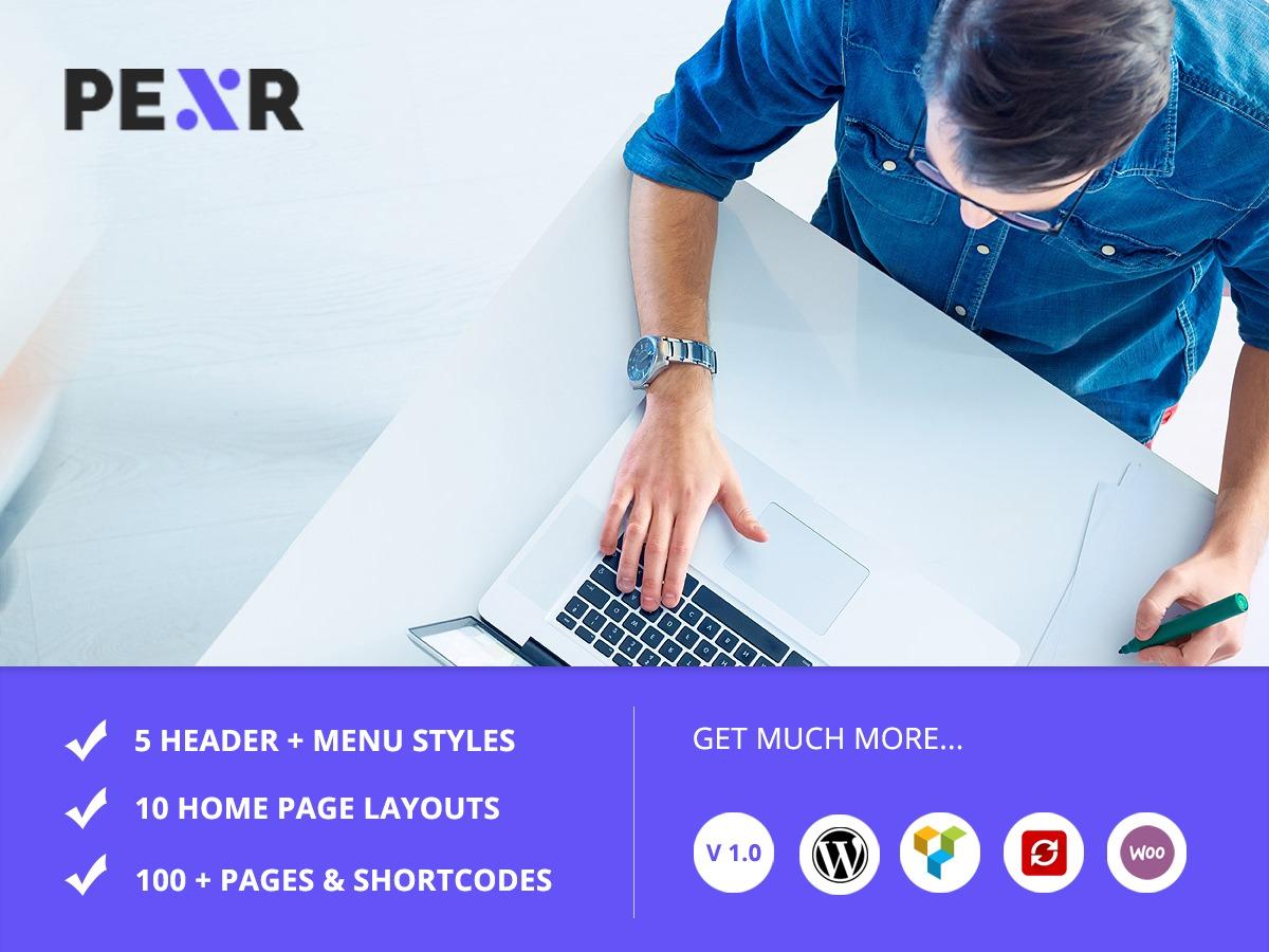 WordPress theme PEXR