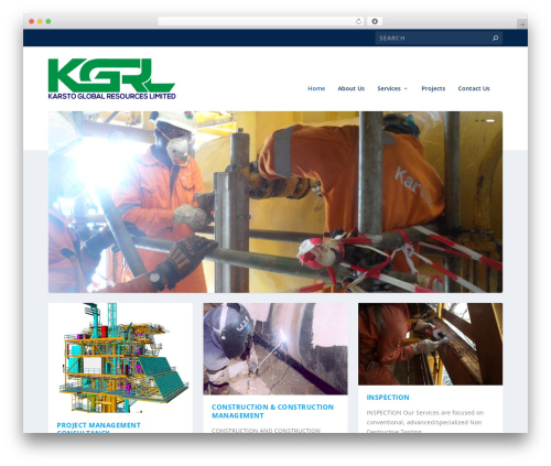 Extra WordPress page template - karstoglobal.com