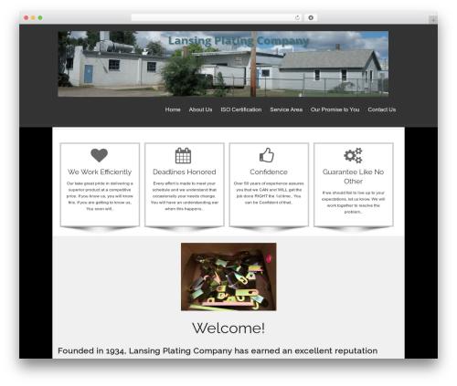 isis best free WordPress theme - lansingplatingco.com