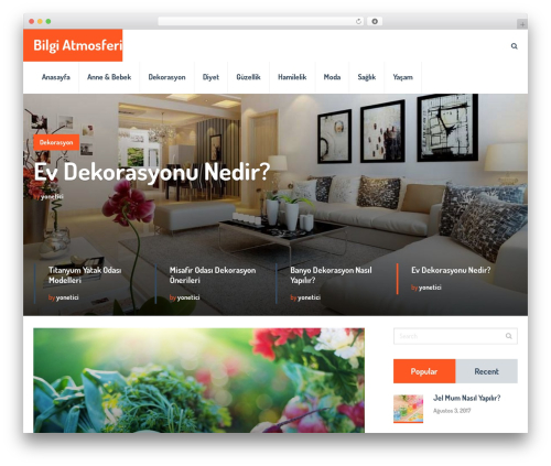 SocialNow by MyThemeShop WordPress ecommerce template - bilgiatmosferi.com