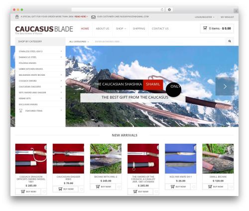Template WordPress Nielsen - caucasus-blade.com