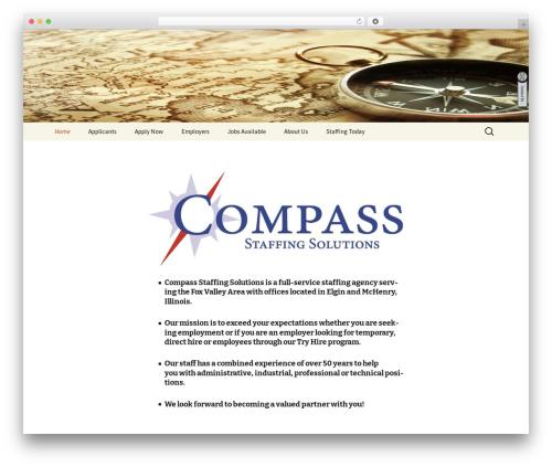 Twenty Thirteen WordPress theme download - compassstaffingsolutions.com