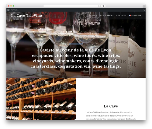 Dyad WordPress theme - triovino.fr/fr