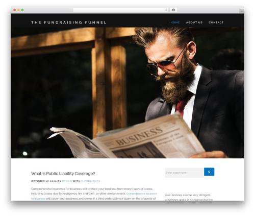 Encase best free WordPress theme - thefundraisingfunnel.com.au