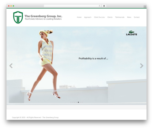 greenberg_responsetheme WordPress page template - thegreenberggroup.com