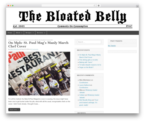 WordPress my-pinterest-badge plugin - thebloatedbelly.com