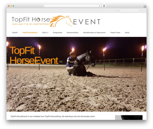 Mugen theme WordPress - topfithorseevent.com