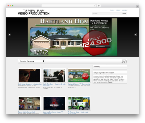 On Demand theme WordPress - tampabayvideoproduction.com