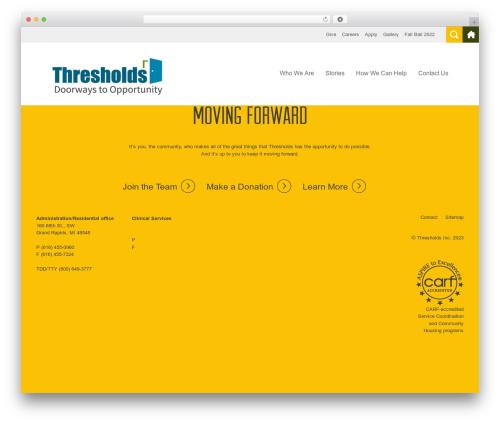 Roots Starter Theme WordPress theme - threshnet.org
