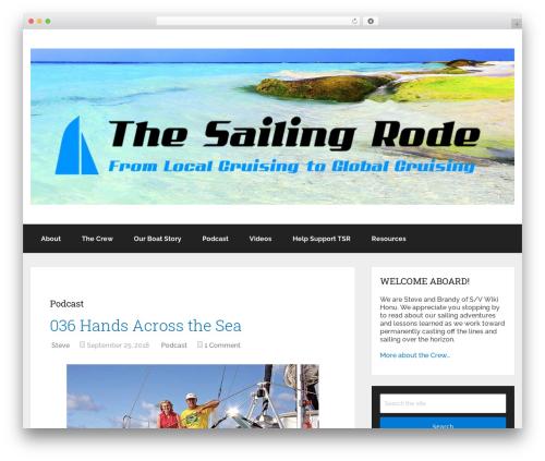 Theme WordPress Schema by MyThemeShop - thesailingroad.com