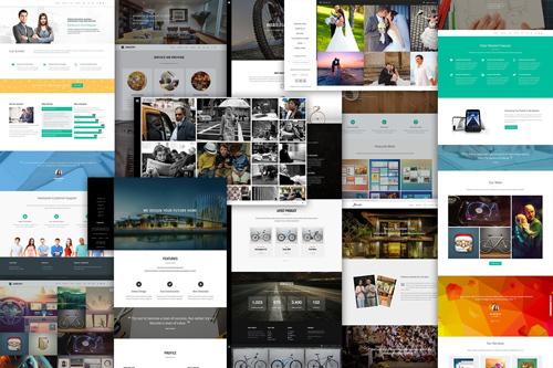 Triphase WordPress page template