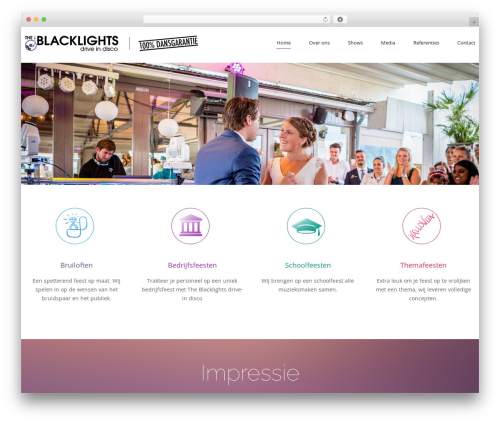WP template cherry - theblacklights.nl