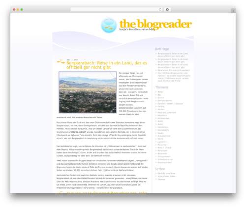 WordPress wp-html-sitemap plugin - theblogreader.net