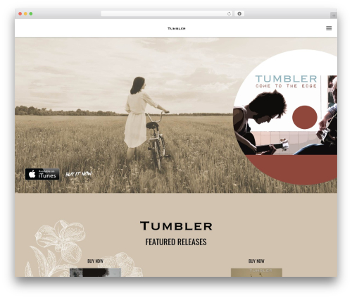 WP template Odio - tumbler.band