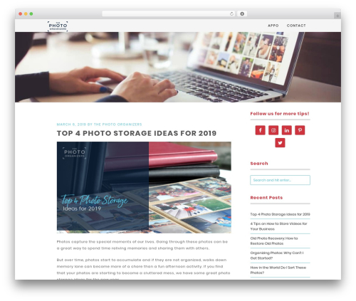 Free WordPress Swifty Image Widget plugin - thephotoorganizers.com