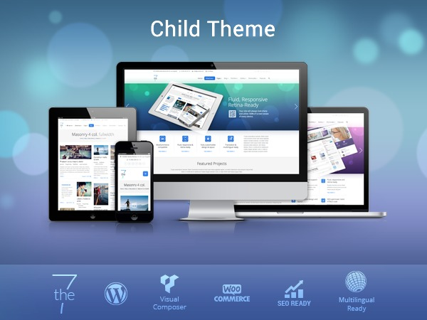 WP theme The7-child