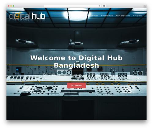 WP theme Sydney - digitalhubbd.com
