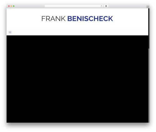 Betheme WP theme - frankbenischeck.com