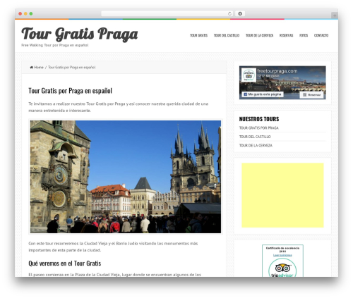 LiveBlog top WordPress theme - tourgratispraga.com