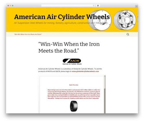 Twenty Thirteen theme free download - americanaircylinderwheels.com