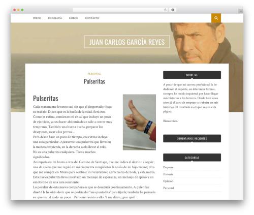 Bulan theme WordPress - jcgescritor.com