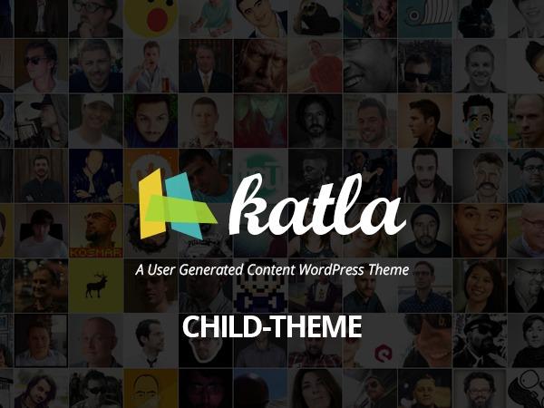 Katla by Bluthemes - Child Theme theme WordPress