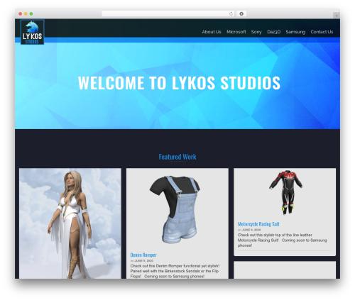 Pinnacle free WordPress theme - lykosstudios.com