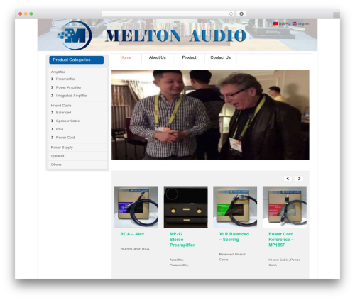 Striking MultiFlex & Ecommerce Responsive WordPress Theme best WordPress template - meltonaudio.com