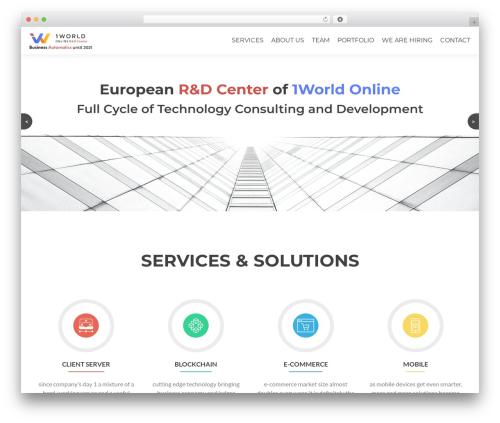 BA business WordPress theme - ba-devlab.com
