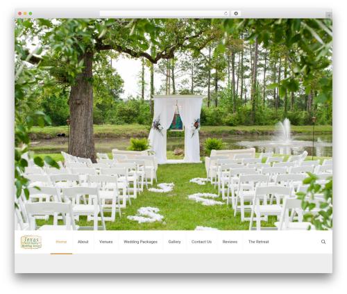 Betheme WordPress wedding theme - texasforestcountryweddings.com