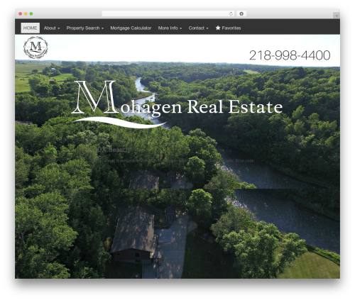 Lab Responsive Bootstrap real estate template WordPress - mohagenrealestate.com