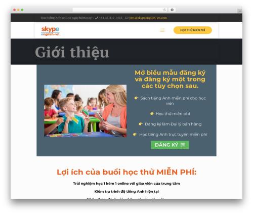Template WordPress Betheme - skypeenglish-vn.com