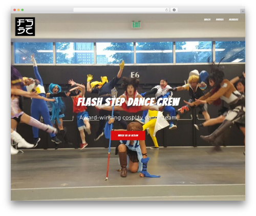 Best WordPress theme Sydney - flashstepdancecrew.com