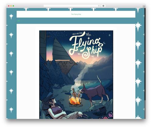 Betheme WP theme - flyingshipcomic.com